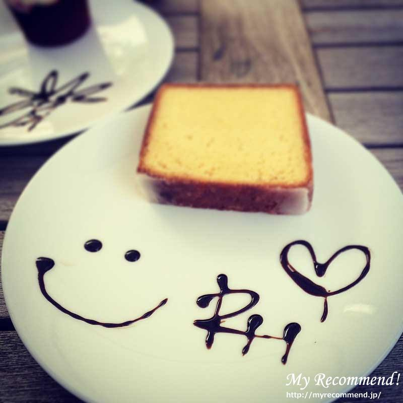RH Cafe レモンケーキ