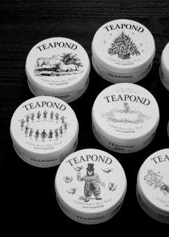 おしゃれな紅茶缶 TEAPOND