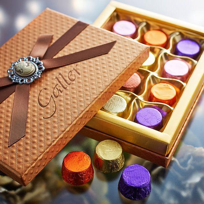 宝石箱みたいなチョコ ガレー