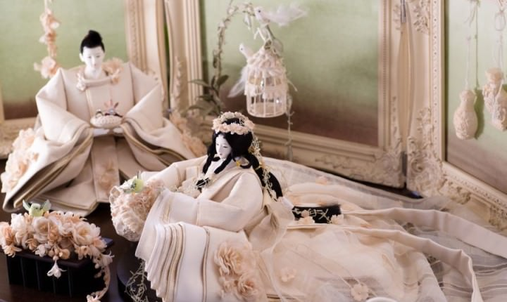 おしゃれな雛人形が人気!ひと目で恋に落ちる現代のお雛さま