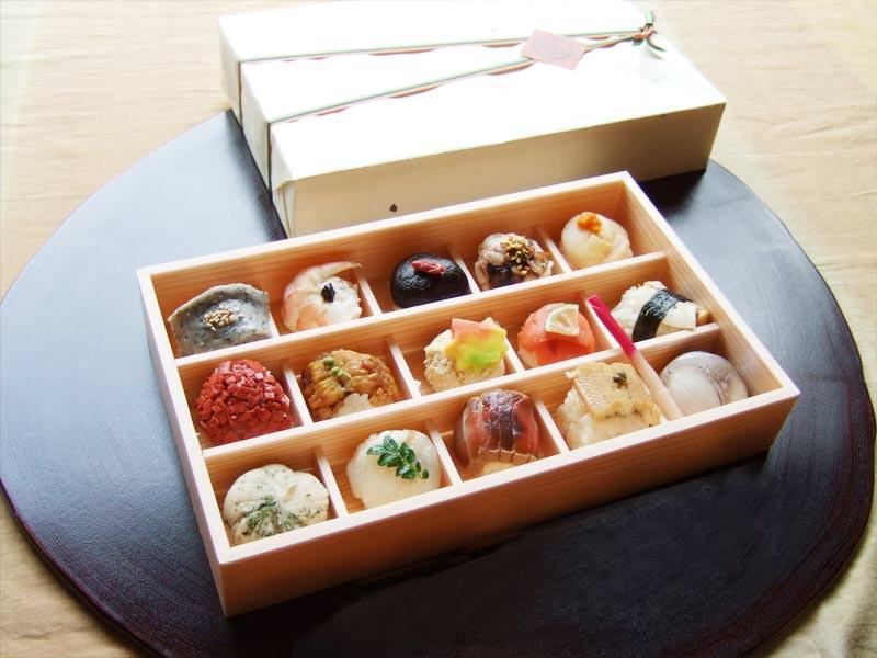 お花見おすすめ 手まり寿司