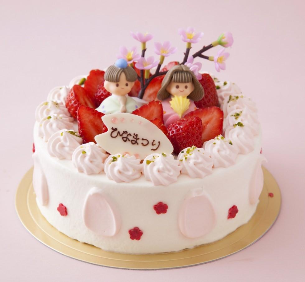 ラテール ひな祭りケーキ