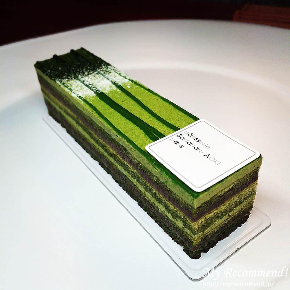 美味しい抹茶ケーキ