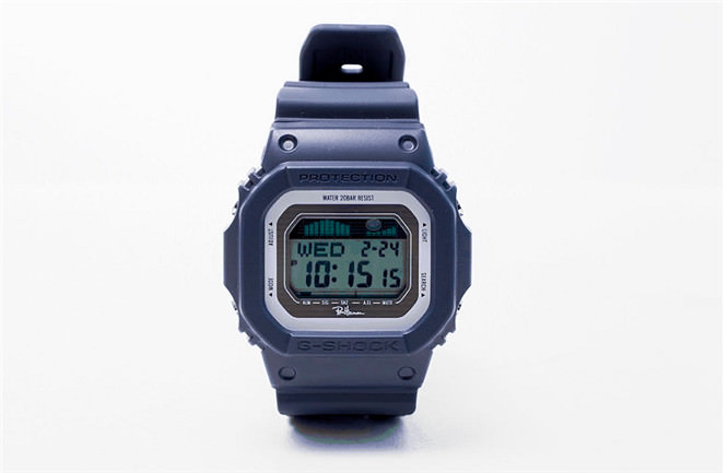 Ron Herman × Casio G‐Shock GLX-5600 navy