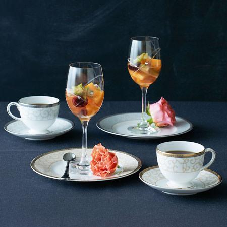 ウェッジウッド プロミシス 『ウィズ ディス リング』 ワイン&タンブラーグラス ペアギフトセット