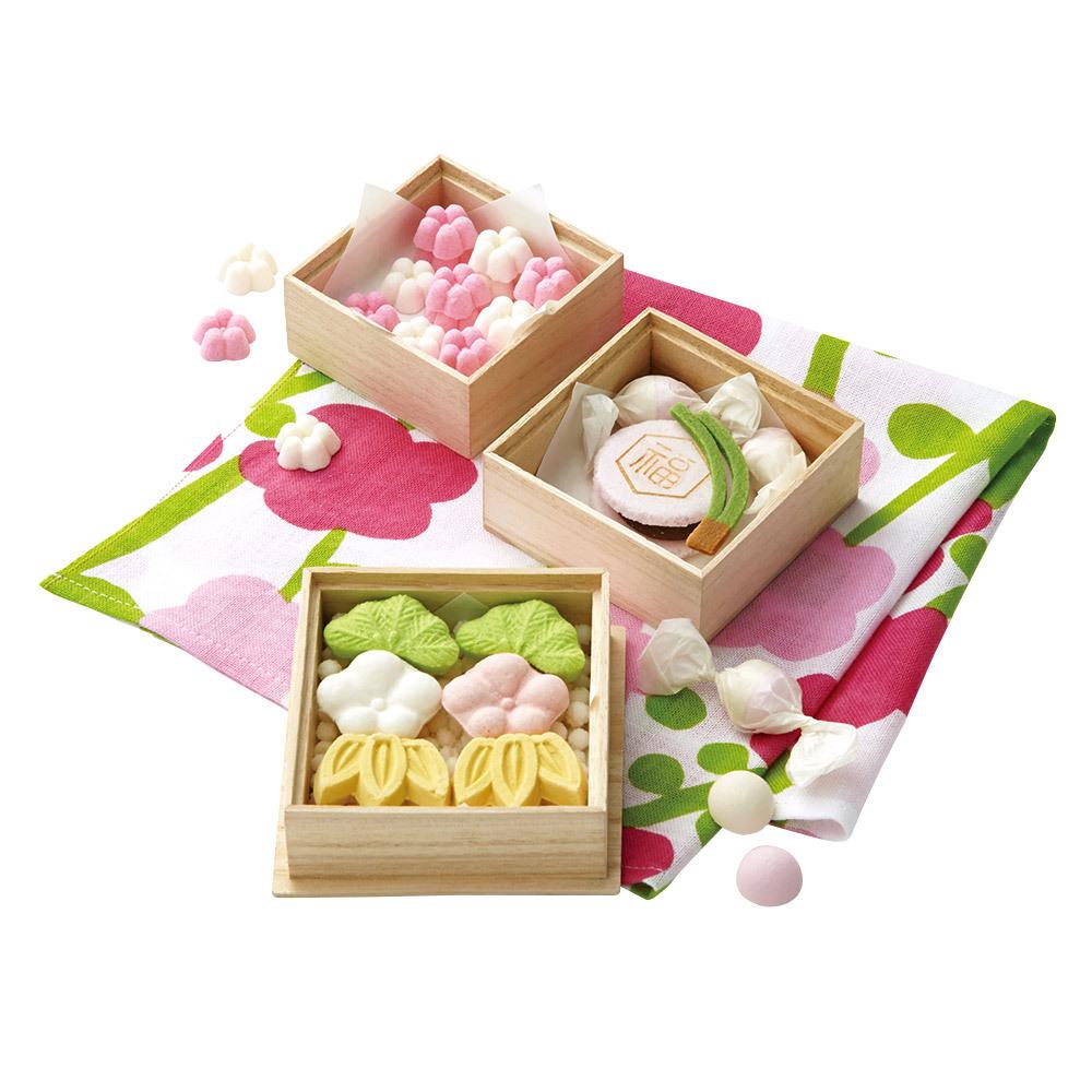 亀屋良長 風呂敷和菓子