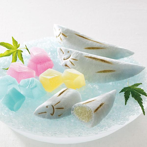 夏の和菓子 俵屋吉富