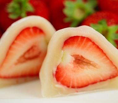 大阪 美味しいいちご大福