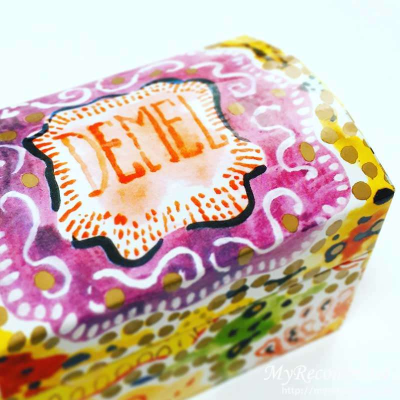 デメル クッキー 箱