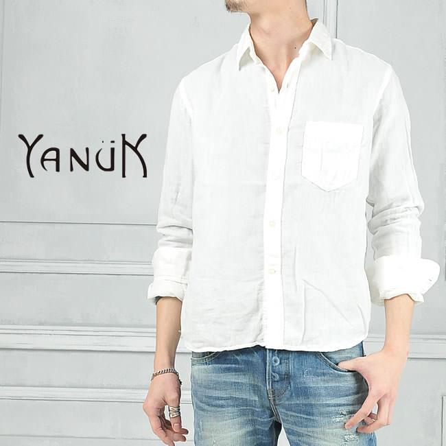 YANUK ヤヌーク メンズシャツ