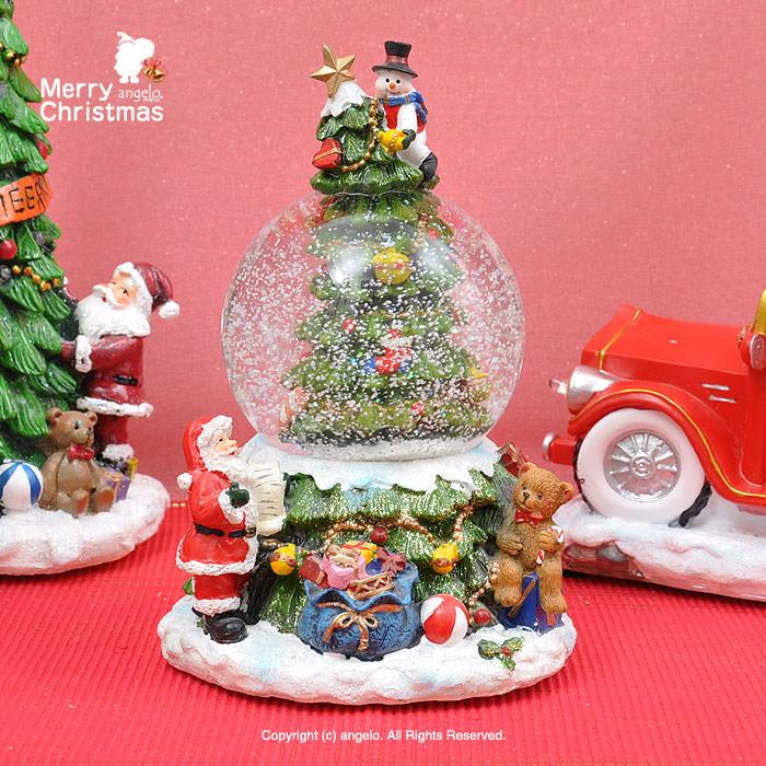 クリスマススノードーム オルゴール