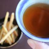 ほうじ茶と芋けんぴ