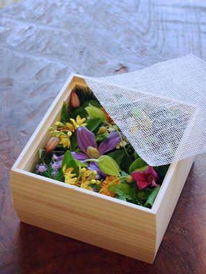 京都 みたて 木箱