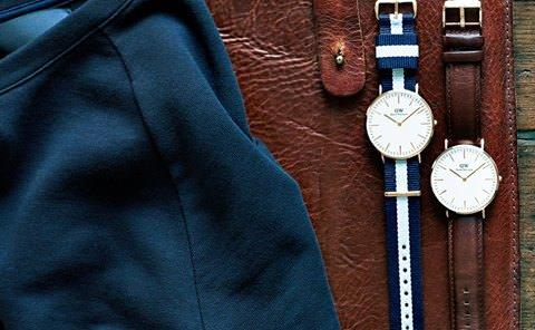お洒落なメンズの腕時計 ダニエルウェリントン
