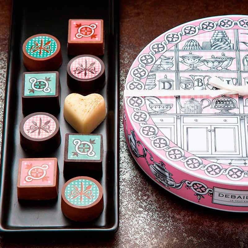 バレンタイン チョコ ドゥバイヨル ハイクレア ティータイム