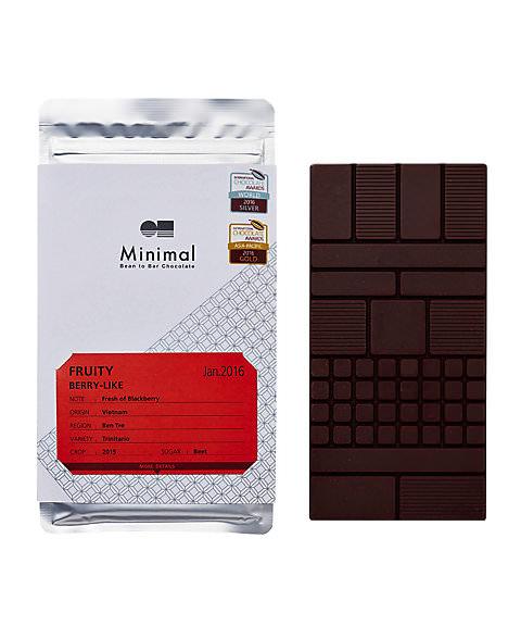 ミニマル ビーントゥバーチョコレート