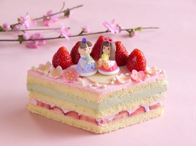 リーガロイヤルホテル東京 ひな祭りケーキ