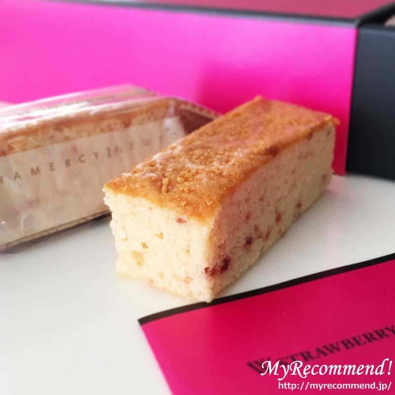 ダブルストロベリーチーズケーキ