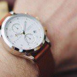 トリワ 腕時計 IVORY LANSEN CHRONO ユニセックス