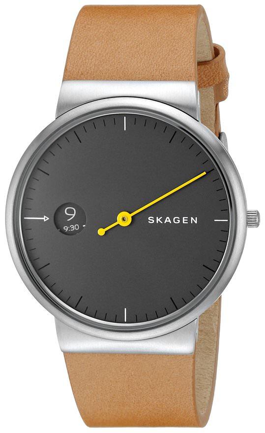スカーゲン 腕時計 Ancher Mono Leather