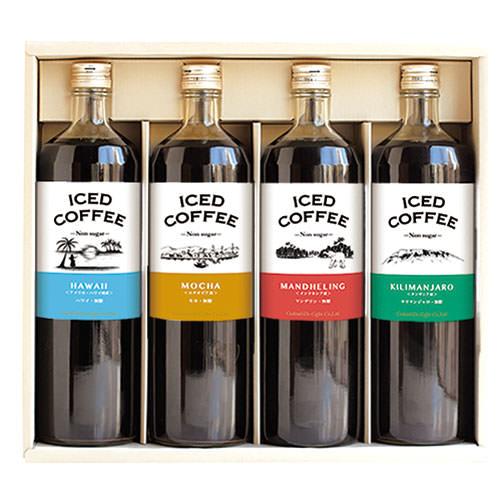 コクテール堂 世界のコーヒー紀行アイス 4本セット