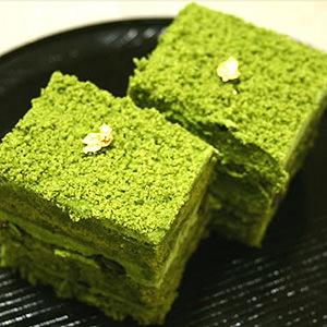 京都 宇治抹茶ケーキ