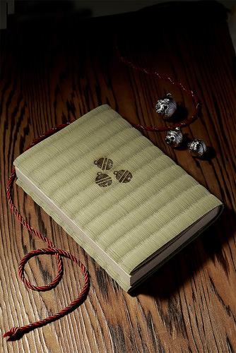 畳のブックカバー 銀の鈴