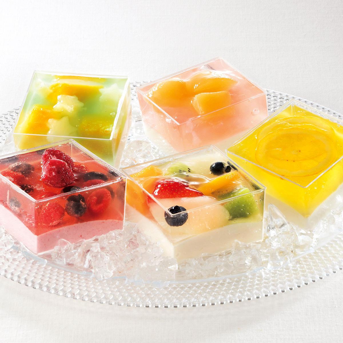 ケーキハウス ショウタニ 夏の涼菓 ゼリー寄せ