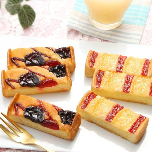 サブレタルト詰め合わせ 桃とサクランボ