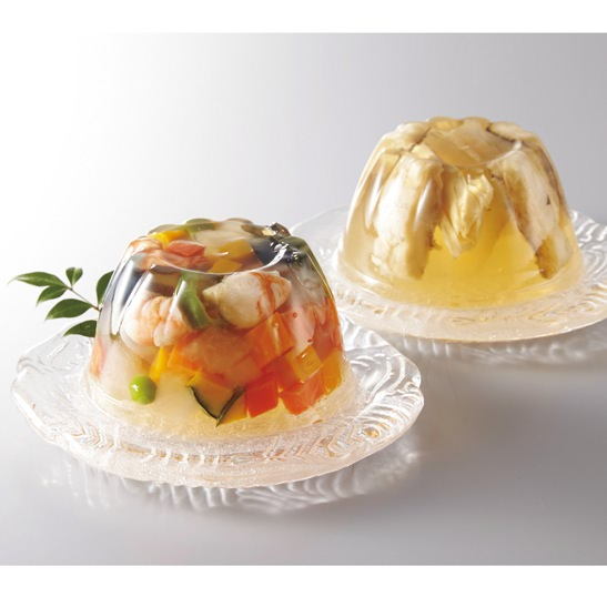 京料理 美濃吉 夏野菜味彩寄せと鱧と湯葉の涼風寄せ