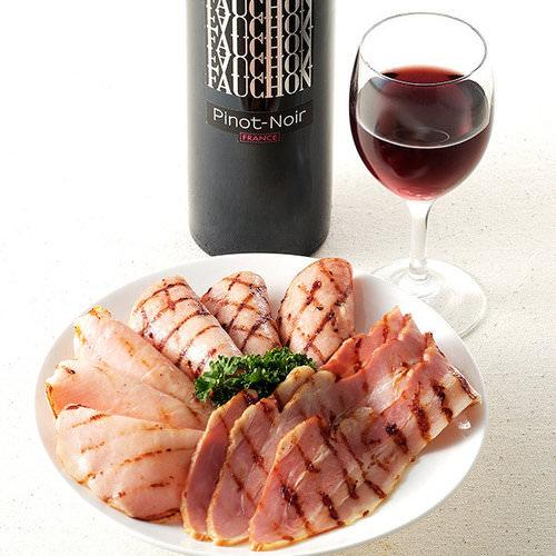 フォション 赤ワイン&ハムセット