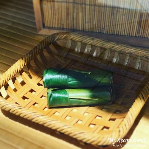 鍵善良房の甘露竹