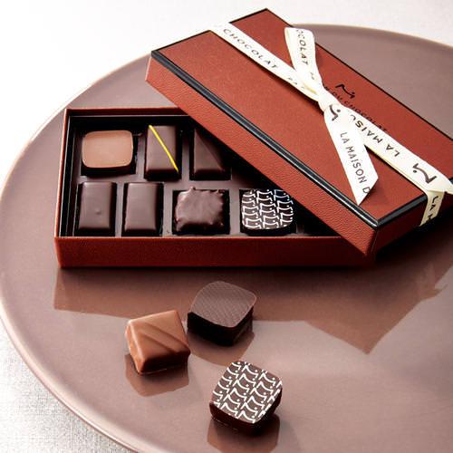ラ・メゾン・デュ・ショコラ チョコレート プレゼント