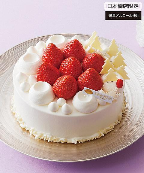 マンダリン オリエンタル 東京 クリスマス ストロベリーショートケーキ