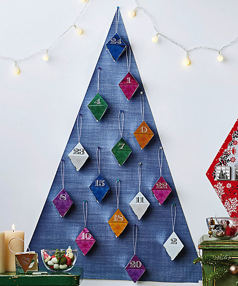 ビーンズナッツ ツリーに飾るクリスマスカレンダー