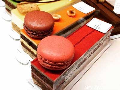 パティスリー・サダハル・アオキ・パリのケーキ