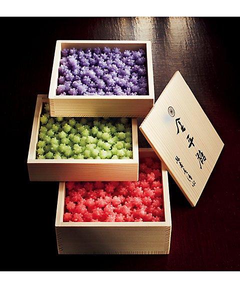 緑寿庵清水 特別仕立て木箱三段重ね