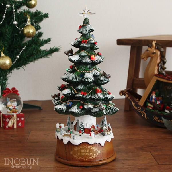 クリスマス ハルモニア HARMONIER オルゴール ツリー
