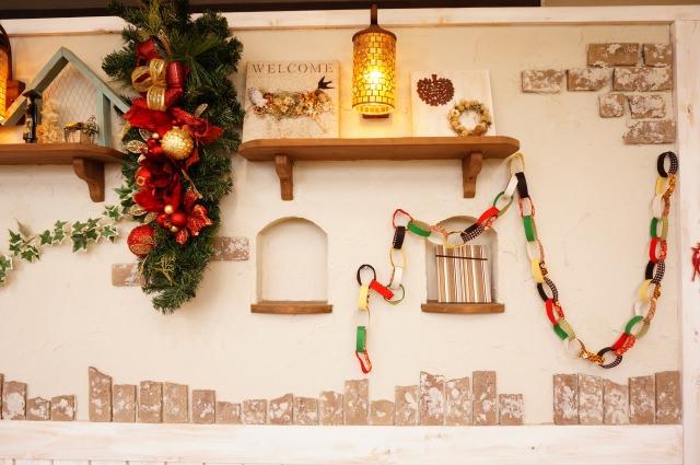 おしゃれなクリスマススワッグ (1)
