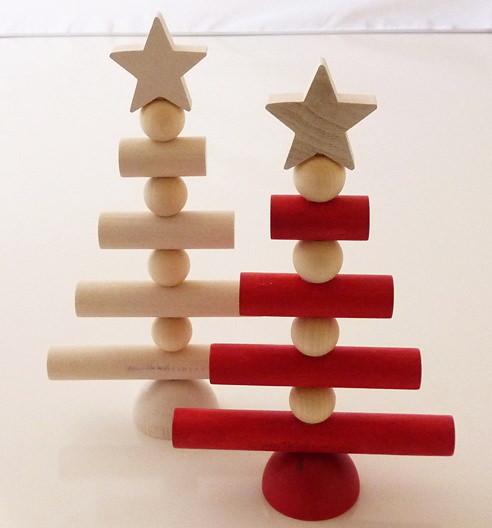 aarikka テーブルデコレーション クリスマスツリー18cm 全2色
