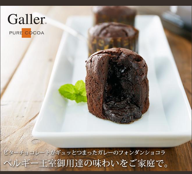 Galler ガレー監修 フォンダンショコラ3