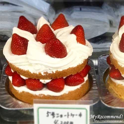 近江屋洋菓子店,ホールケーキ