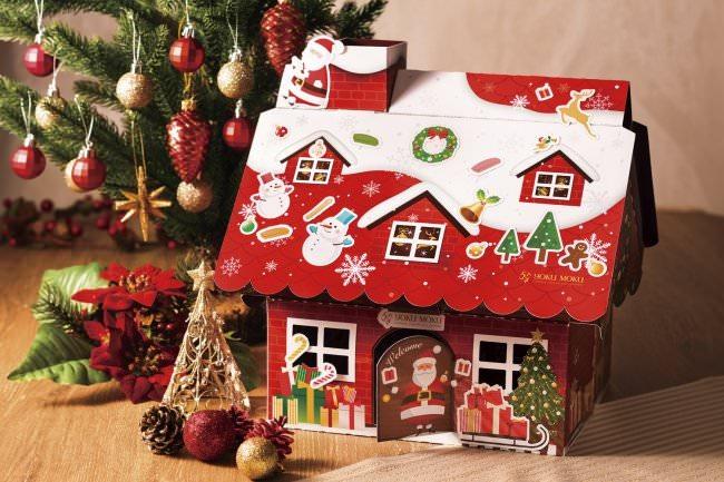 ヨックモック クリスマス ヘクセンハウス
