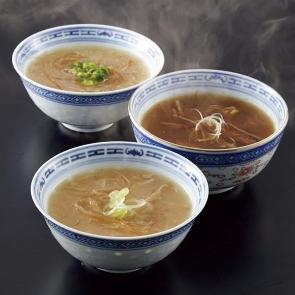 日本橋古樹軒 3種のふかひれスープ