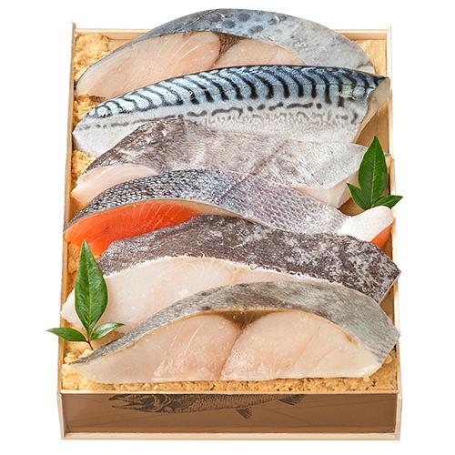 鈴波 魚介味淋粕漬