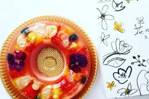ハバロの花のババロアがおすすめ!食べられるお花のケーキ