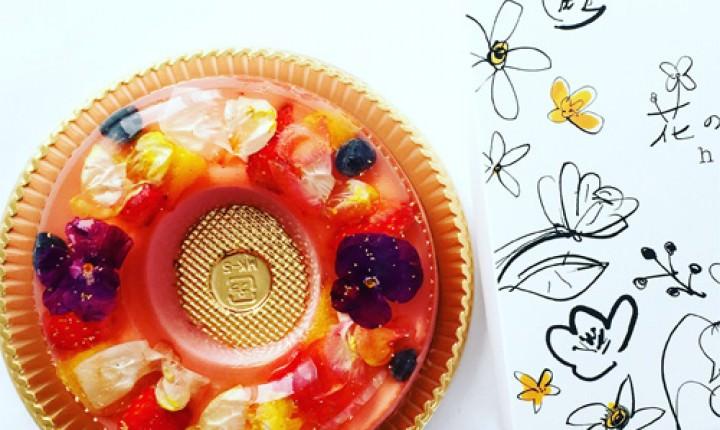 花のババロアがおすすめ!食べられる!美しいお花のケーキ