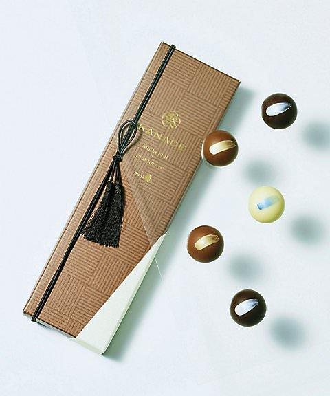 メリーチョコレート 日本酒トリュフ