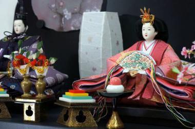 90平安天鳳作 雛人形