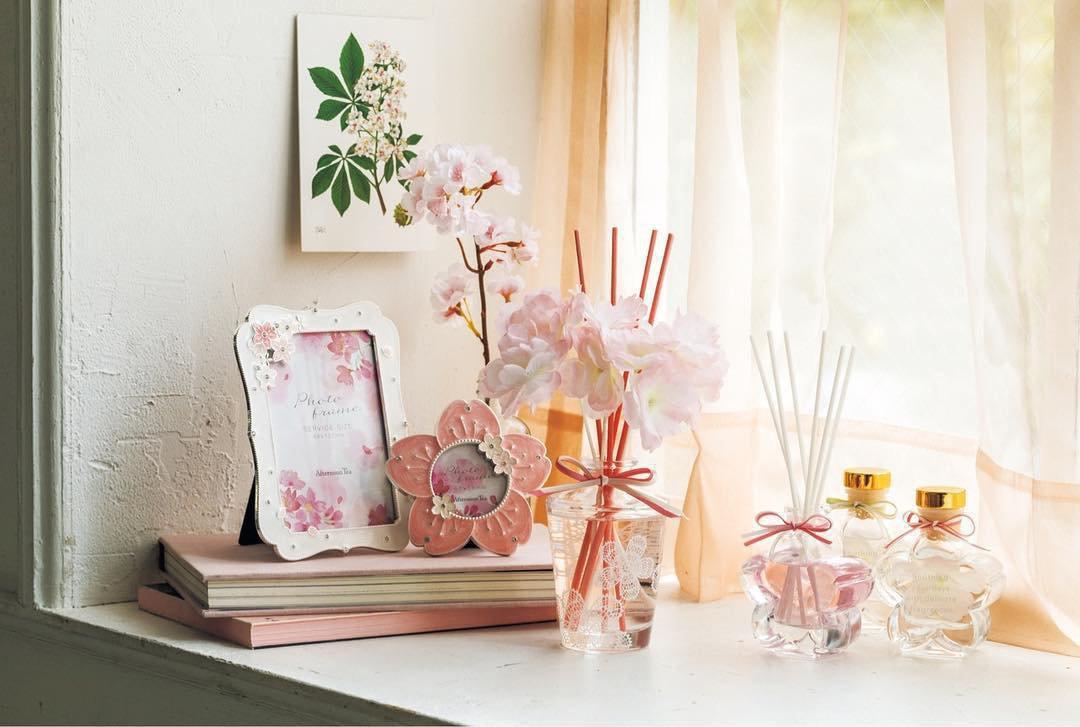 Afternoon Tea 桜色のインテリア